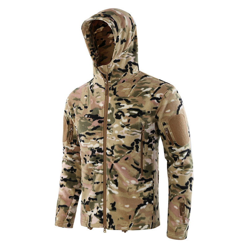 dba32759ed9a7 ESDY New Arrival Camo Jacket Army Military Tactical Fleece Jacket ...